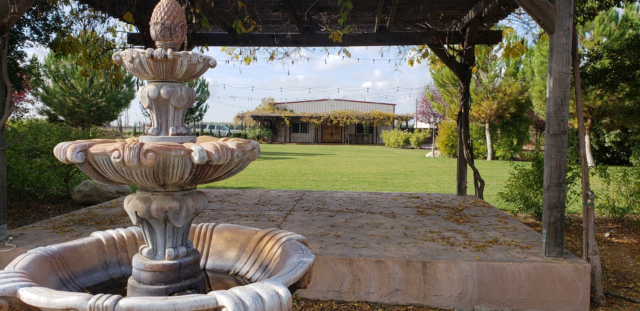 The Winery Wedding Backdrop